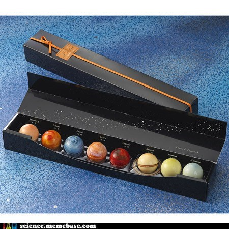 Astronomy chocolate food planets - 5605835264