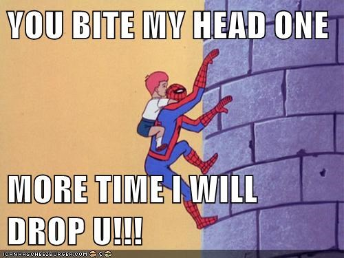 biter eww kid Spider-Man Super-Lols