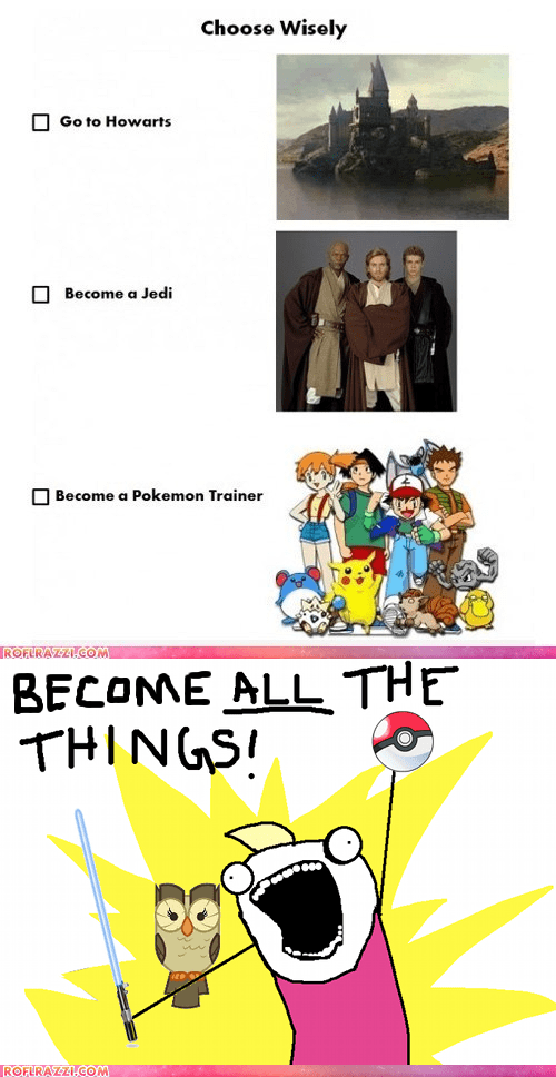 funny Hall of Fame Harry Potter meme Pokémon star wars - 5606340096