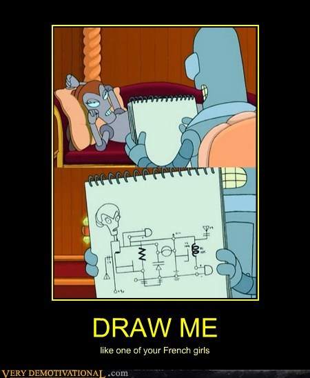 bender draw me futuramam hilarious - 5606377984