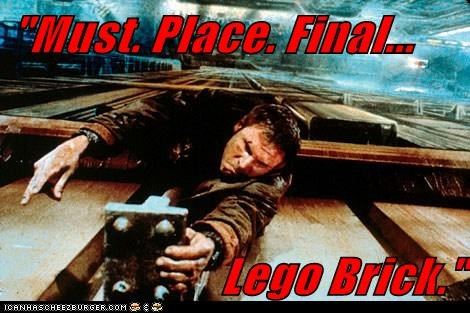 """Must. Place. Final... Lego Brick."""