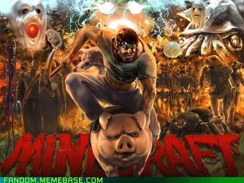 BAMF best of week Fan Art fandom minecraft video games - 5606880512