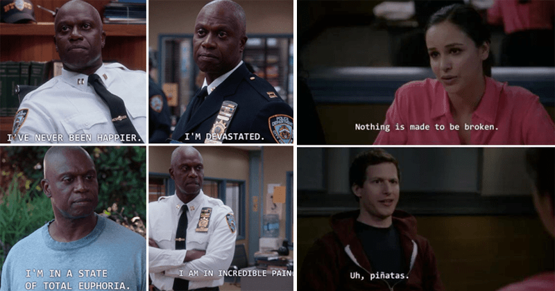 funny moments from brooklyn 99.