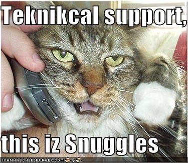 lolcats,phones,technical support
