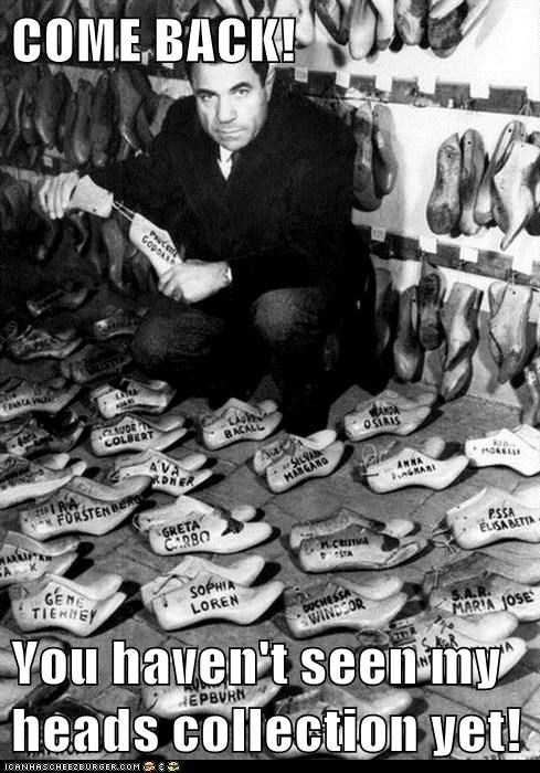 crazy man,historic lols,shoe horns,show molds,vintage,wtf