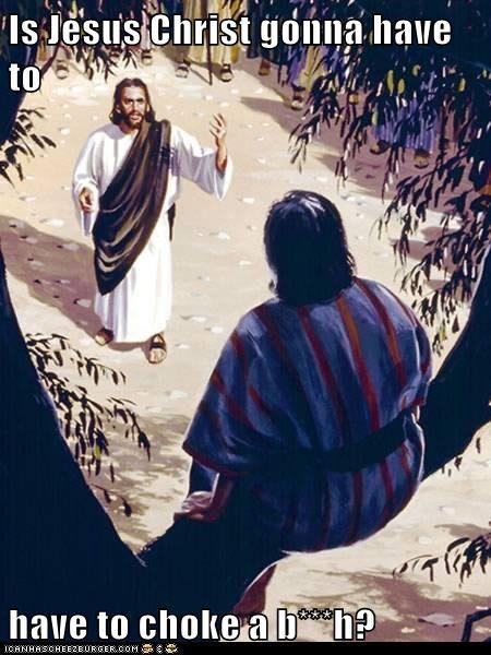 art choke choke a bitch historic lols jesus painting religious - 5607448832