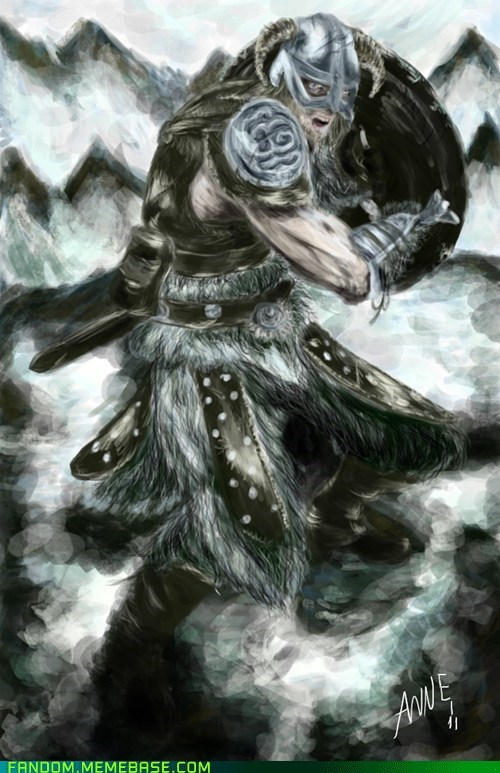Fan Art nord Skyrim video games - 5608125696