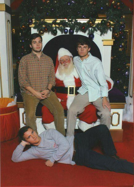 group photo,mall,santa,sexy times,teenagers,too old