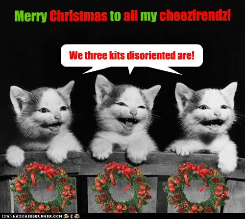 Merry Christmas to all my cheezfrendz!