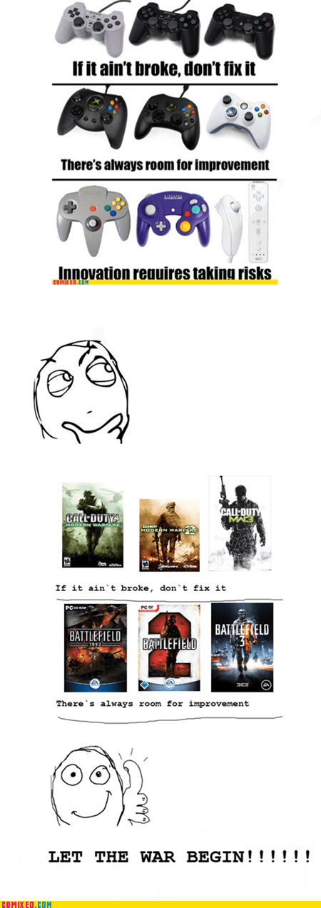 battlefield,call of duty,fanboys,flamewars,video games