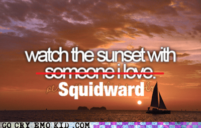 best of week,explosions,spongebob square pants,squidward,sunsets,weird kid