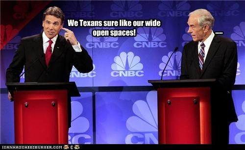 political politics Pundit Kitchen republican Rick Perry Ron Paul texas - 5610215424