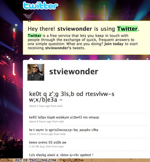 blind stevie wonder tweets