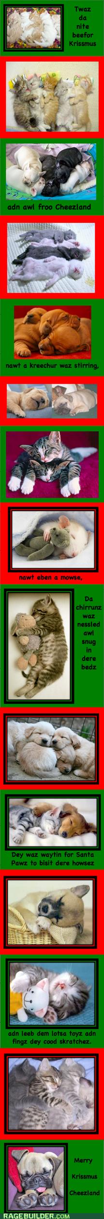 Merry Krissmus Cheezland