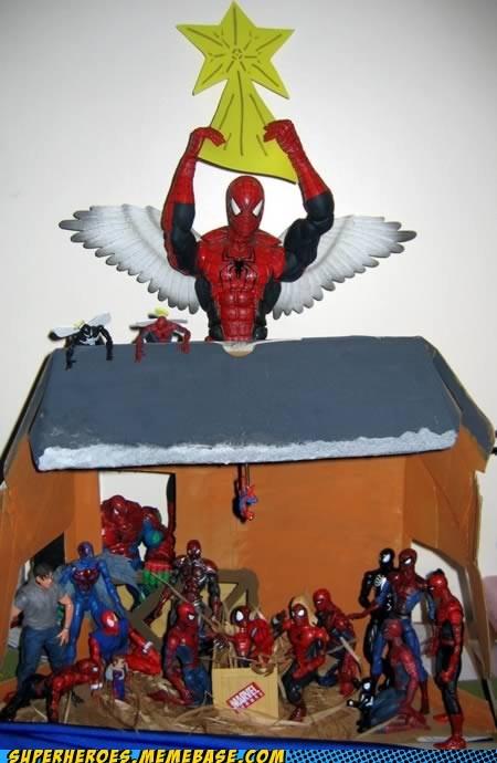 christmas Random Heroics Spider-Man wtf - 5610773760
