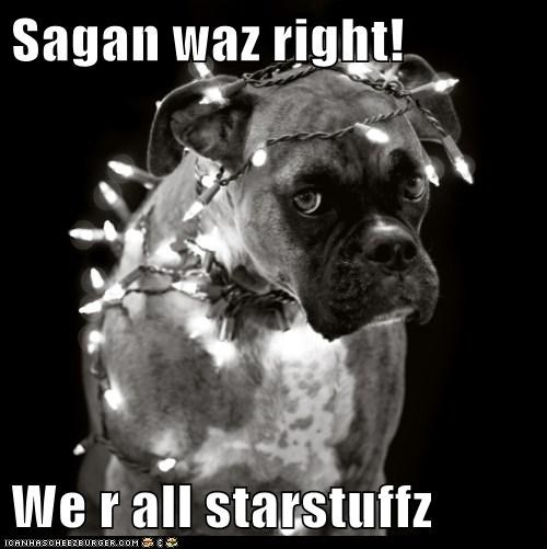 Sagan waz right! We r all starstuffz