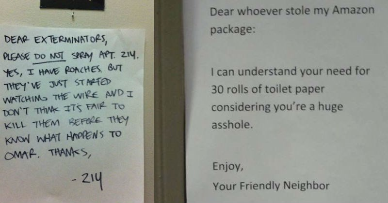 neighbors relatable angry ridiculous notes - 5611013