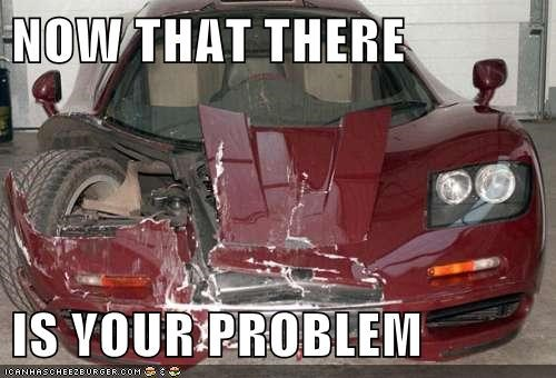 accident car crunch thats-a-bummer-man theres-your-problem totaled wreck - 5611218432