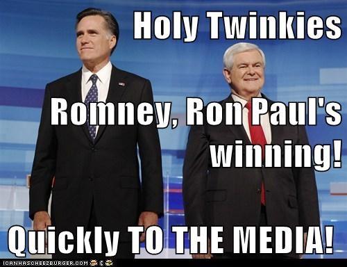 Mitt Romney newt gingrich political pictures - 5611233280