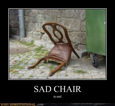 broken chair Sad - 5611265280