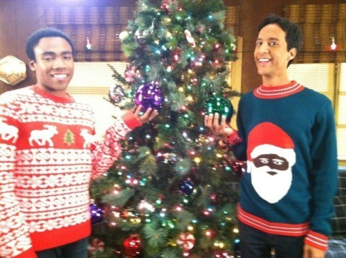christmas community So This Happened Troy and Abed