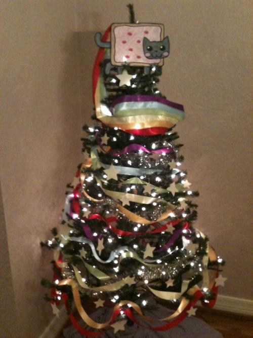 christmas Nyan Cat Nyan Of Cathlehem Pop Tart Cat - 5611428096