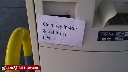 dabit,debit,misspelled,typos