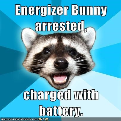 battery bunny energizer Lame Pun Coon - 5612485888