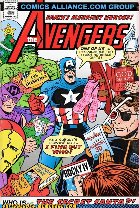 avengers captain america hawkeye hulk presents Straight off the Page Thor wtf - 5612546560