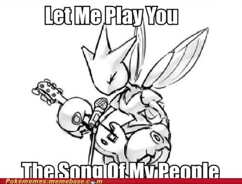 meme Memes metal song scizor song of my people - 5612569088