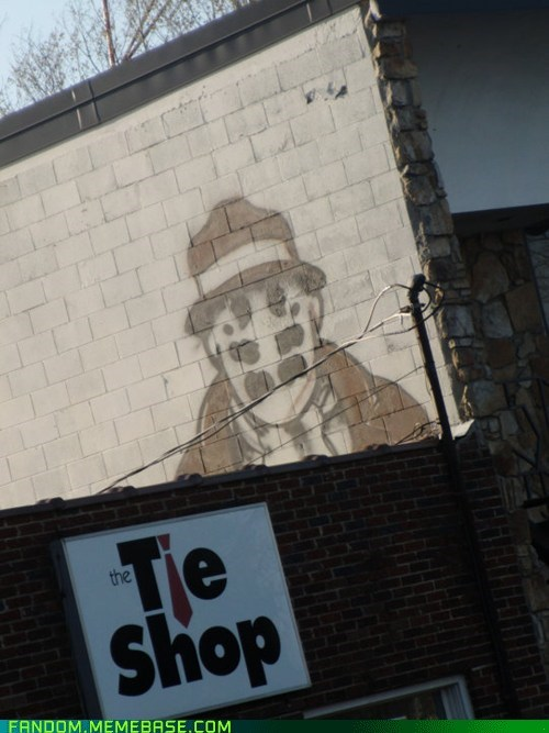 comics Fan Art graffiti rorschach watchmen - 5612804608