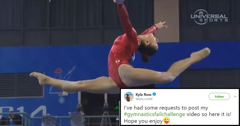 hilarious sports fails sports Terrifying FAIL gymnast fails gymnastics painful falls olympic gymnasts athletics college gymnastics kyla ross jo38ma3 - 5612805