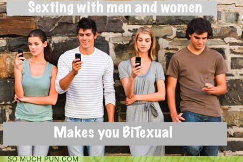 bi,men,prefix,sexting,similar sounding,women