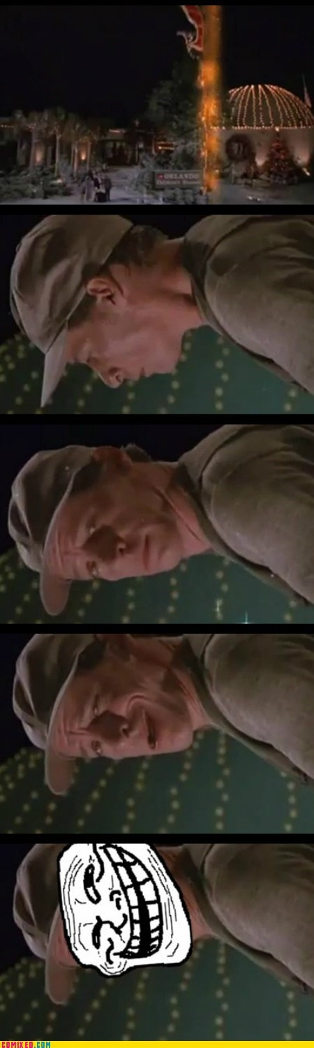ernest,ernest saves christmas,From the Movies,troll physics,vern