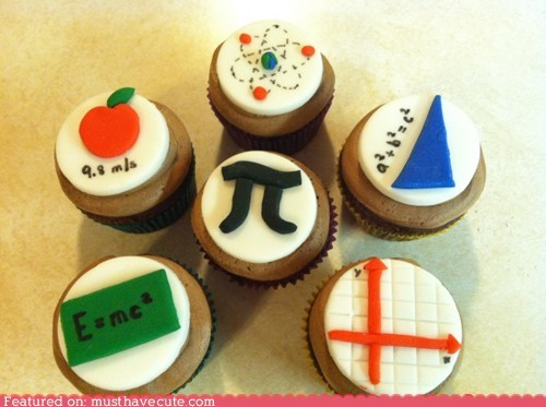 best of the week cupcakes epicute fondant math physics science - 5613323008