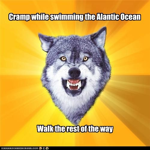 atlantic ocean courage Courage Wolf cramps oceans swimming walk water wolves - 5613390848