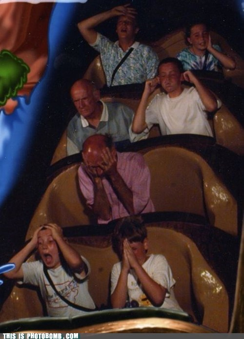 awesome kids old guy ride scary - 5613713152