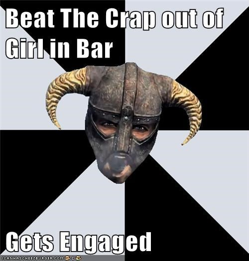 Beat The Crap out of Girl in Bar Gets Engaged