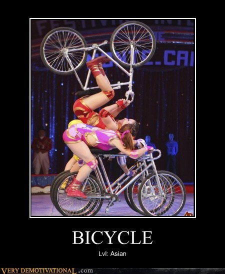 asians,awesome,bicycle,hilarious
