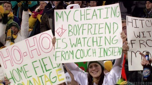 Oversharing,Packers Natio,screencap,screengrab,screenshot,TMI
