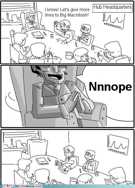 Big Macintosh comic eeyup meme nnnope the hub - 5614271488