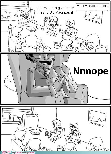 Big Macintosh comic eeyup meme nnnope the hub - 5614271488