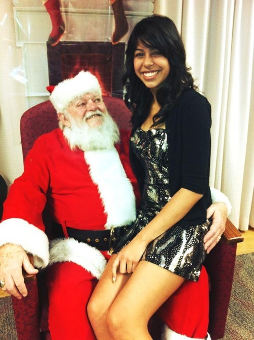 creepy,dirty,santa,sexy times,teeth