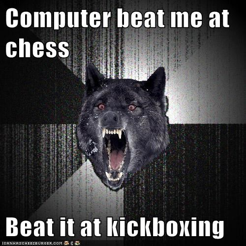 awesome computer idea Insanity Wolf kickboxing