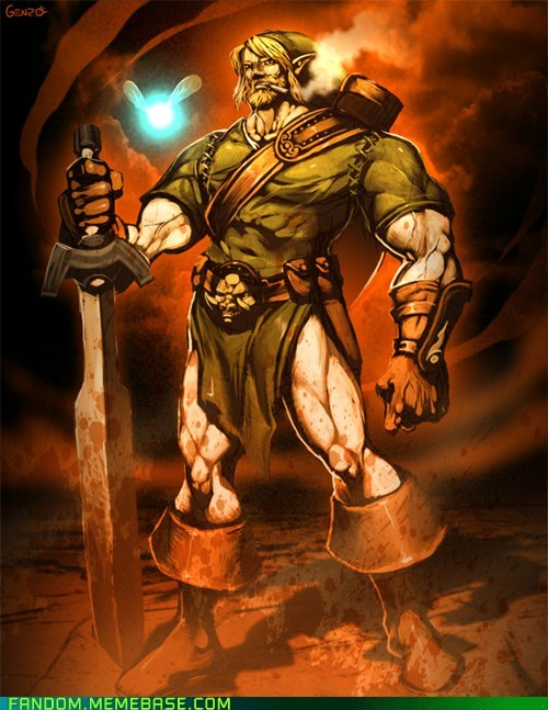 best of week buff Fan Art legend of zelda link - 5614615808