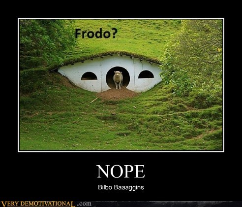 Bilbo Baggins,frodo,hilarious,sheep,shire