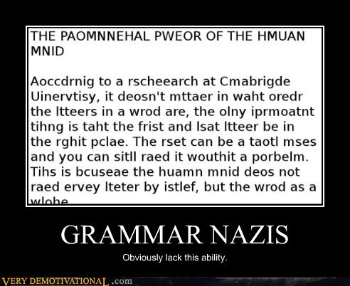 cambridge grammar nazi hilarious humans letters wtf - 5615682816