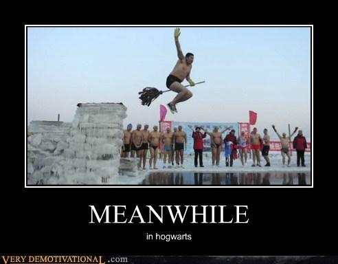 broom hilarious Hogwarts Meanwhile wtf