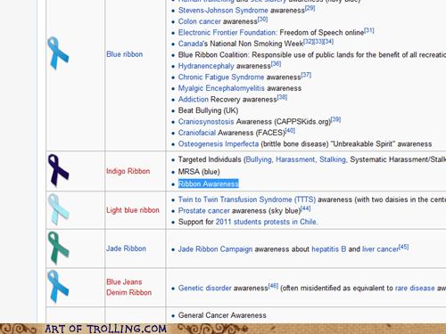 awareness indigo ribbon wikipedia - 5615993088