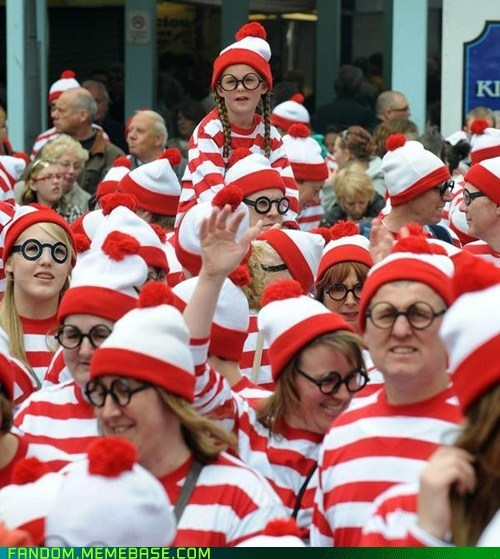 cosplay crowd waldo wheres waldo - 5616718336